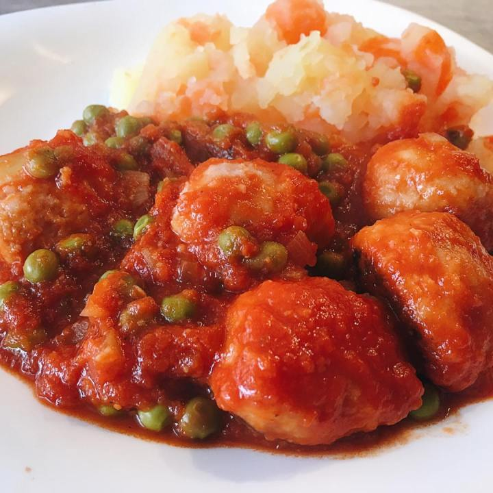 Albóndigas de pollo fit