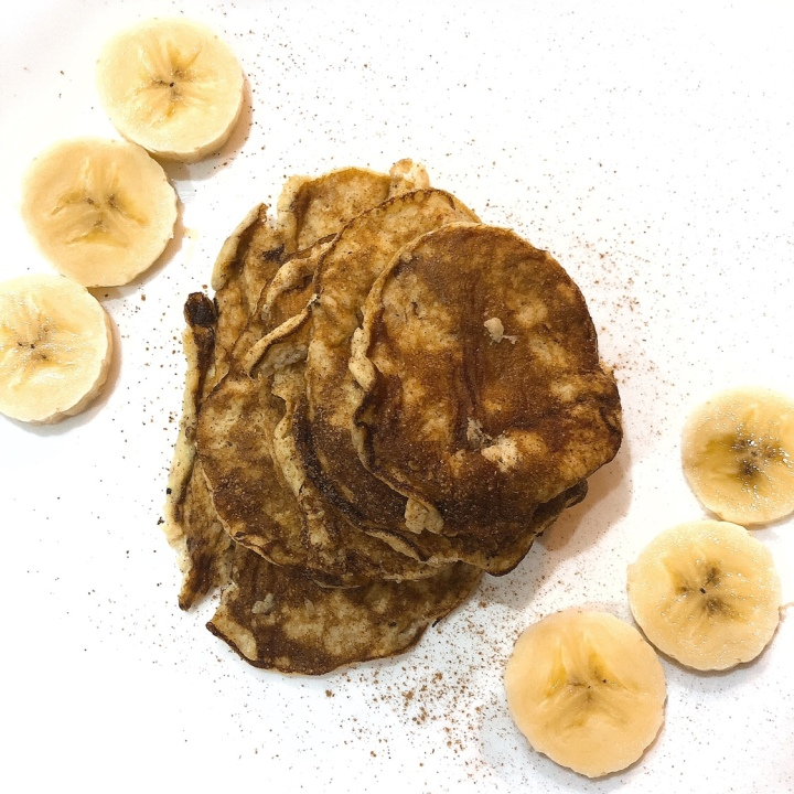 Tortitas de plátano 🍌 con 2 ingredientes